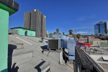 Earl Carroll Theatre, Hollywood: Roof looking north