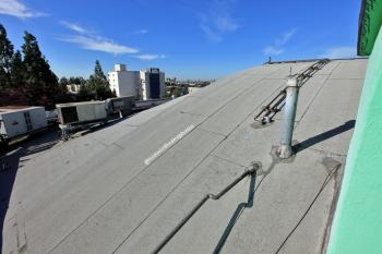 Earl Carroll Theatre, Hollywood: Roof looking south