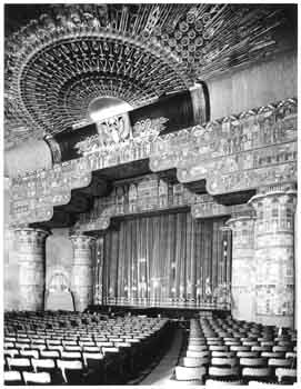 Stage in 1922