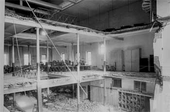 The devastating interior collapse of 9th June 1893