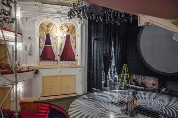 Ford's Theatre, Washington DC: House Left Boxes and Stage