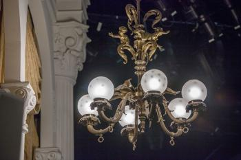 Ford's Theatre, Washington DC: Light Fixture