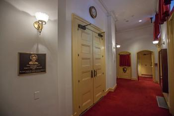Ford's Theatre, Washington DC: Orchestra Lobby Doors to Auditorium