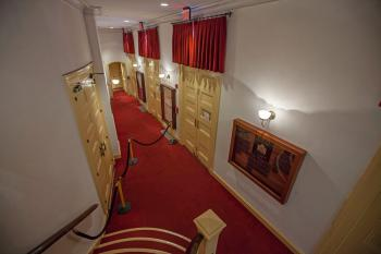 Ford's Theatre, Washington DC: Orchestra Lobby from Dress Circle Stairs