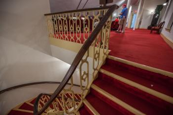 Ford's Theatre, Washington DC: Stairs from Dress Circle