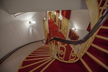 Ford's Theatre, Washington DC: Stairs from Dress Circle to Orchestra Lobby
