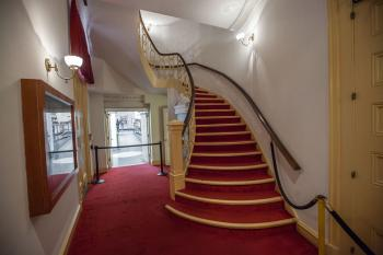 Ford's Theatre, Washington DC: Stairs to Dress Circle from Orchestra Lobby