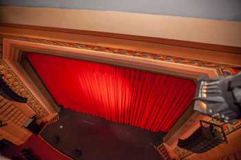 Fox Tucson Theatre: View from Ceiling Lighting Slot