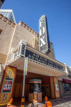 Fox Tucson Theatre: Marquee and Vertical Sign