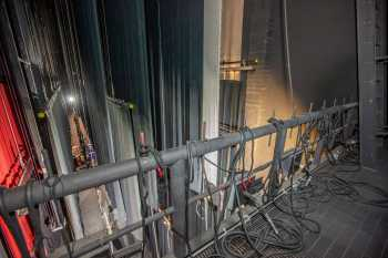 Fox Tucson Theatre: Fly Floor from Downstage