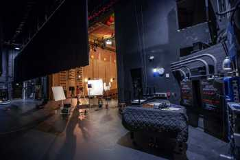 Fox Tucson Theatre: Stage from Upstage Right