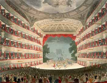 Second Theatre in 1808