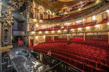 Her Majesty's Theatre: Auditorium and Orchestra Pit from Stage Right