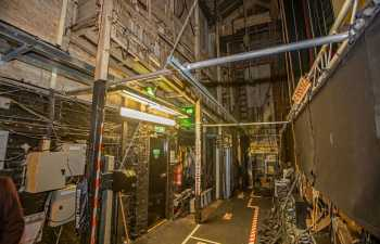 Her Majesty's Theatre: Fly Floor from Upstage looking Downstage