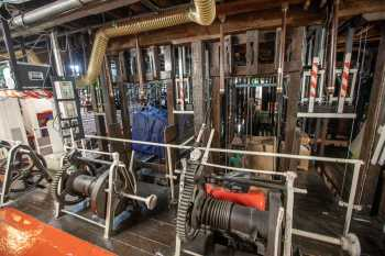 Her Majesty's Theatre: Stage Bridge Winches