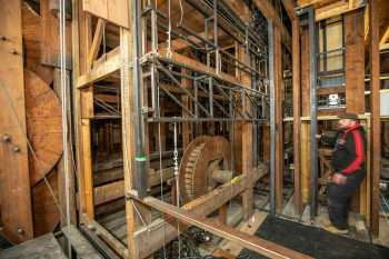 Her Majesty's Theatre: Stage Bridges from Downstage Right
