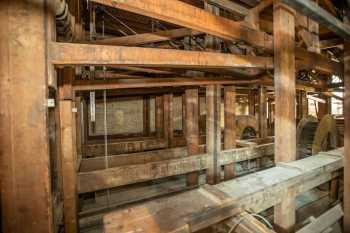 Her Majesty's Theatre: Stage Bridges looking Upstage