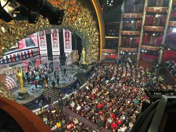 Hollywood Boulevard Entertainment District: Dolby Theatre: After The Oscars 2018 Postshow