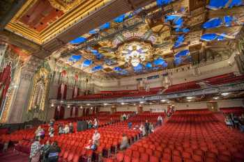 Hollywood Boulevard Entertainment District: Pantages Theatre: Auditorium during Subscriber Open House event