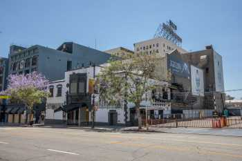Avalon Hollywood: Exterior and Stagehouse from North