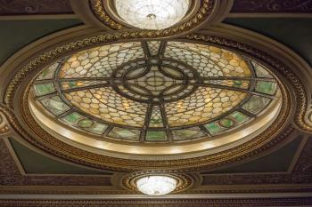 Hudson Theatre, New York: Dome detail 1