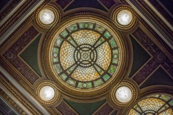 Hudson Theatre, New York: Dome from below