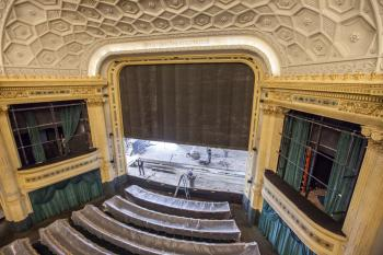 Hudson Theatre, New York: Stage from Upper Circle