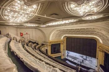 Hudson Theatre, New York: Upper Circle from right