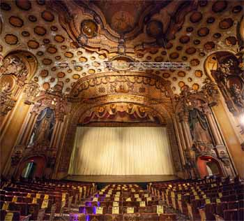 Los Angeles Theatre: Stage From Orchestra Center Rear