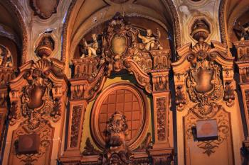 Los Angeles Theatre: Auditorium Panel detail