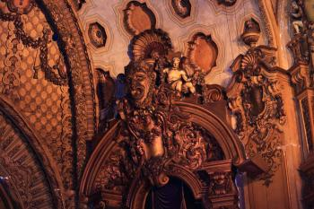 Los Angeles Theatre: Auditorium Sidestage detail