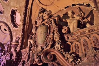Los Angeles Theatre: Balcony Right detail