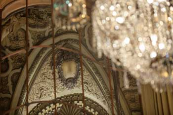 Los Angeles Theatre: Grand Lobby Mirror detail