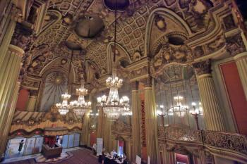 Los Angeles Theatre: Lobby from Mezzanine side