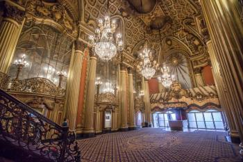 Los Angeles Theatre: Lobby from beside stairs