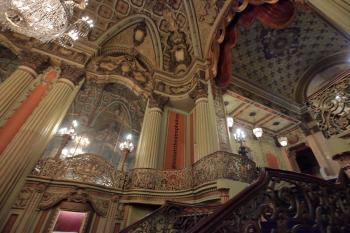 Los Angeles Theatre: Stairs to Mezzanine