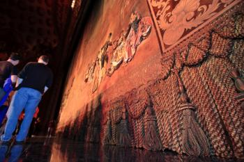 Los Angeles Theatre: Act Curtain Closeup