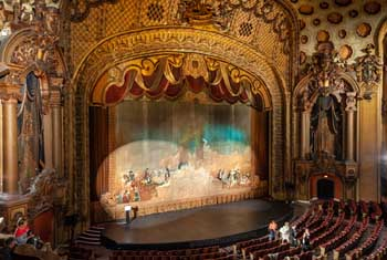 Los Angeles Theatre: Act Curtain