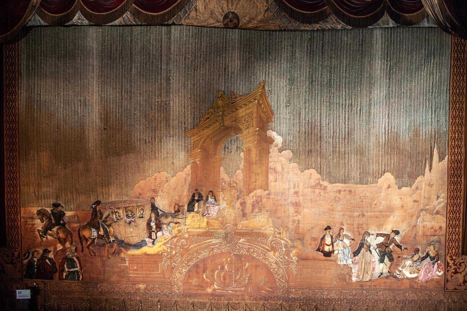 Original 1931 Act Curtain