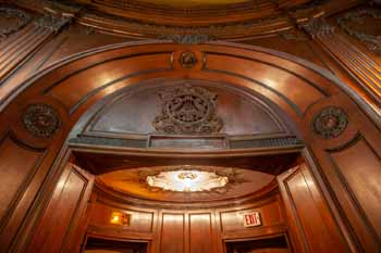 Los Angeles Theatre: Arch Above Telephone Booths