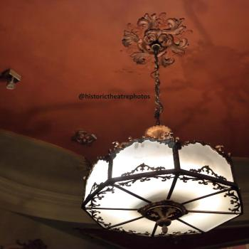 Los Angeles Theatre: Ballroom Light Fixture
