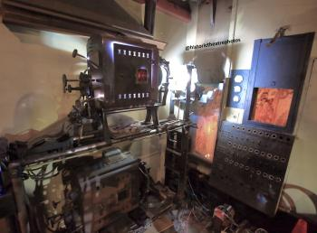 Los Angeles Theatre: Brenkert F7 Master Brenograph in operaation