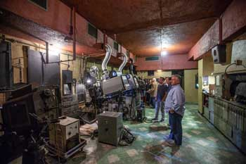 Los Angeles Theatre: Projection Booth From left side