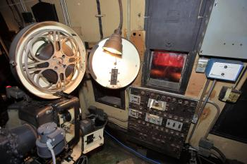 Los Angeles Theatre: Projection Booth equipment