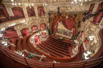 Lyceum Theatre, Sheffield: Auditorium from Balcony Front