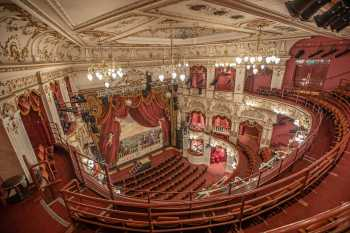 Lyceum Theatre, Sheffield: Balcony Lower Left