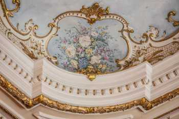 Lyceum Theatre, Sheffield: Ceiling Painting Closeup