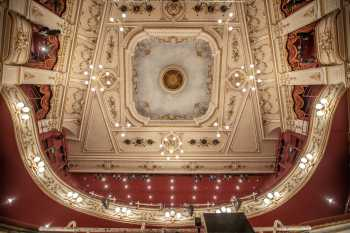 Lyceum Theatre, Sheffield: Ceiling and Gallery Closeup