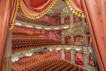 Lyceum Theatre, Sheffield: Auditorium from House Right Box