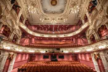 Lyceum Theatre, Sheffield: Auditorium From Stage Center